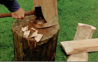 Делаем деревенскую калитку шаг 2