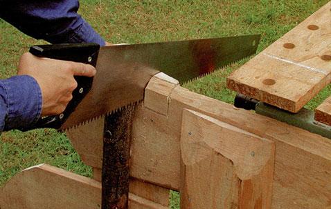 Делаем деревенскую калитку шаг 4