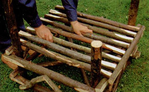 Делаем садовое кресло шаг 5