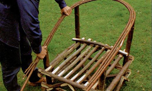 Делаем садовое кресло шаг 6