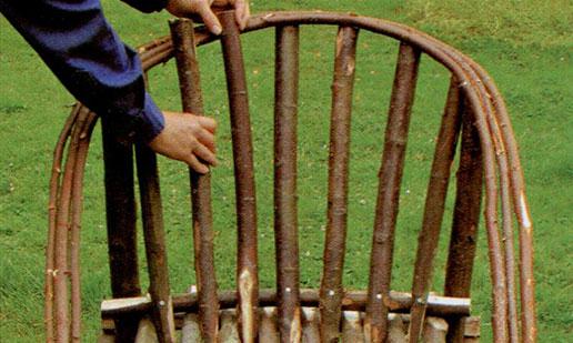 Делаем садовое кресло шаг 7