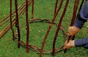 Делаем садовый конус шаг 3