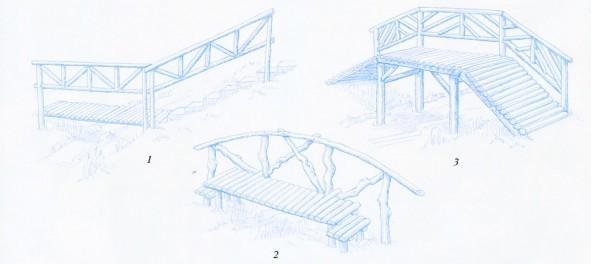 Варианты консольного моста